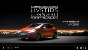 Peugeot 208 privatleasing